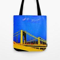 The 3 Sisters Bridges Tote Bag