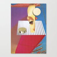 Reality Features Canvas Print