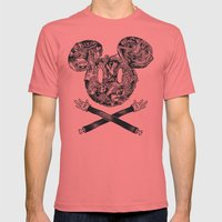 The Mouse Mens Fitted Tee Pomegranate SMALL