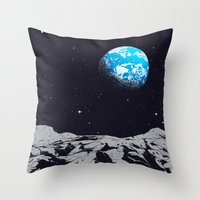 From the Moon Throw Pillow
