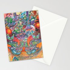 Machines Stationery Cards