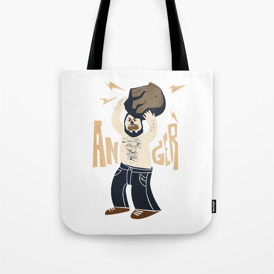 Anger (white hot version) Tote Bag