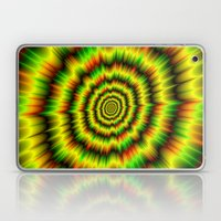 Colour Explosion in Yellow Green and Red Laptop & iPad Skin