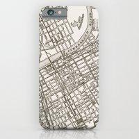 Nashville Map iPhone 6 Slim Case