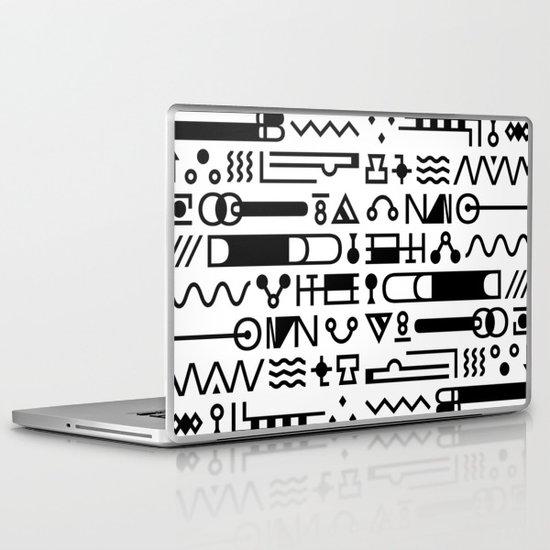 Blood On The Wall Laptop & iPad Skin