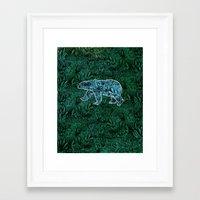 Polar Opposite Framed Art Print