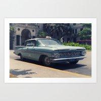 car 1 Art Print