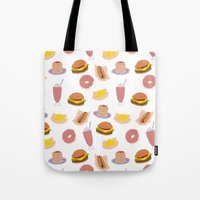 american diner food Tote Bag