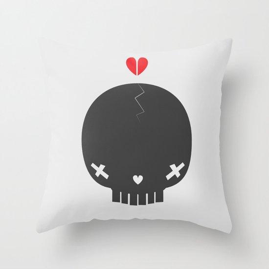 HEART BREAKER - ed. fact Throw Pillow