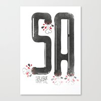 SALVAJEANIMAL Headless I… Canvas Print