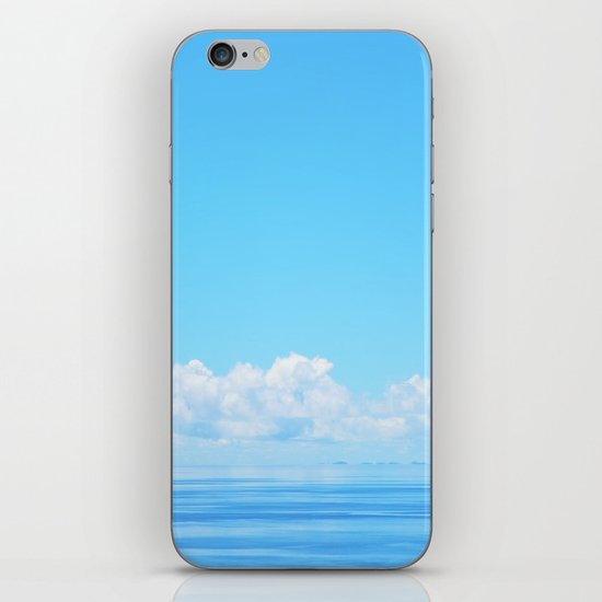 Pacific blues iPhone & iPod Skin