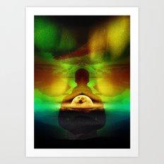 Lucid Dream of Isolation Art Print