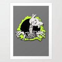 CHICKEN RIPPER Art Print