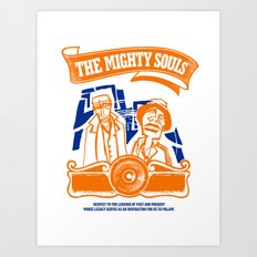 The Mighty Souls: Hip Hop Legends Art Print
