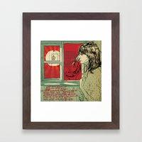 Hang This Girl Framed Art Print