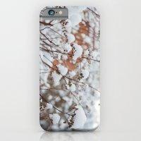 Bush In The Snow iPhone 6 Slim Case