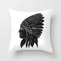 Chief / Black Edition Throw Pillow