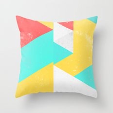 Triangle Pattern I Throw Pillow
