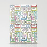 Tape Mix 2 Vintage Casse… Stationery Cards