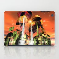 Mushrooms In The Sea iPad Case