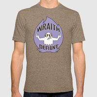 Wraith Defiant decal Mens Fitted Tee Tri-Coffee SMALL