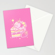 Kirby Cake Stationery Cards