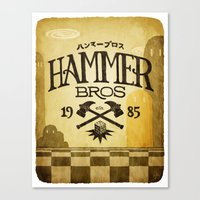 HAMMER BROTHERS Canvas Print