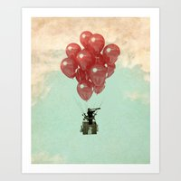 looking for serendipity Art Print