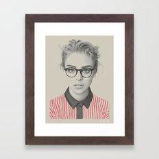 Where's Wendy? Framed Art Print