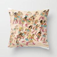 Wonder Women! Throw Pillow