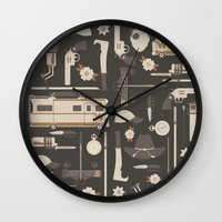 The Walking Dead Wall Clock