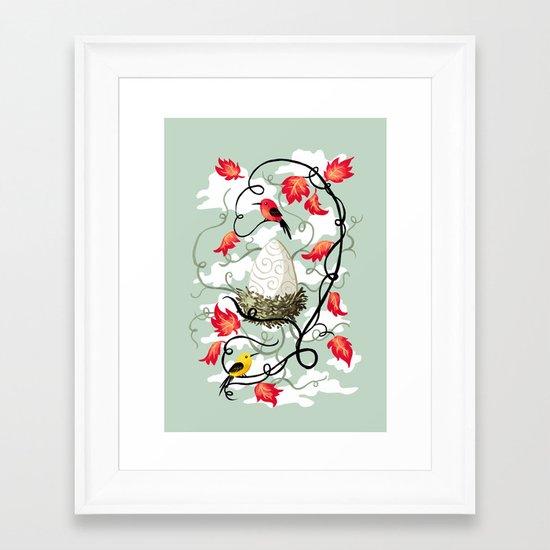 Nest 2 Framed Art Print