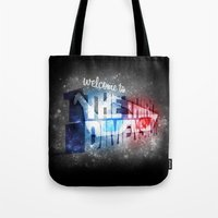 Welcome To The 3rd Dimen… Tote Bag