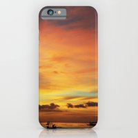 Tangerine Sunset iPhone 6 Slim Case
