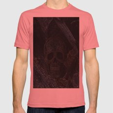 Celtic Mens Fitted Tee Pomegranate SMALL