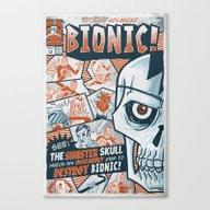 BIONIC! Canvas Print