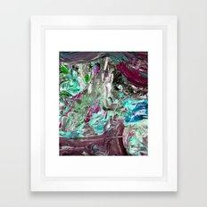 Mint Explosion Framed Art Print