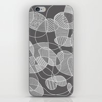 Tangled in B&W iPhone & iPod Skin