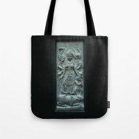 Stone Durga  Tote Bag