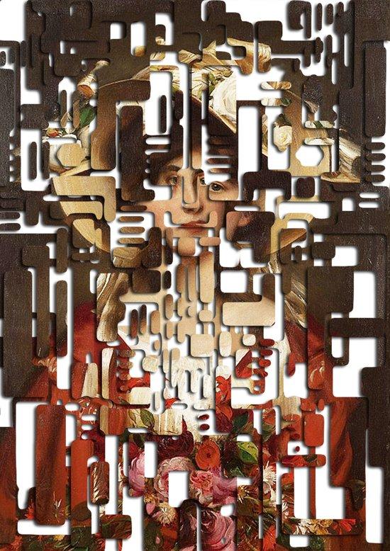 Portrait of Elga / Hardcut Art Print