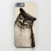 Owl Sketch iPhone 6 Slim Case
