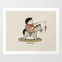 Art Print featuring Motivation by Boots