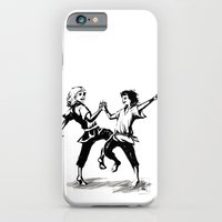 iPhone & iPod Case featuring we shall dance by rroncheg