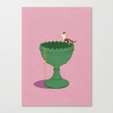 Designed For Skateboardi… Canvas Print