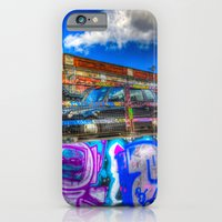 Leake Street and London Taxi iPhone 6 Slim Case