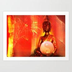Buddha 7 Art Print