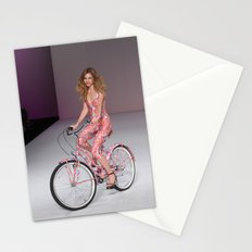Girls on Bikes Stationery Cards