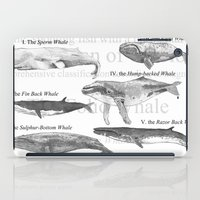 I. The Folio Whale iPad Case