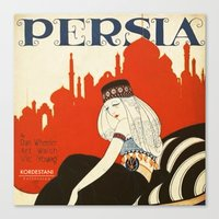 persia pillow Canvas Print