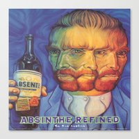 Absinthe Refined Canvas Print